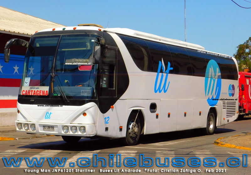 Young Man JNP6120T Starliner | Buses Lit Andrade