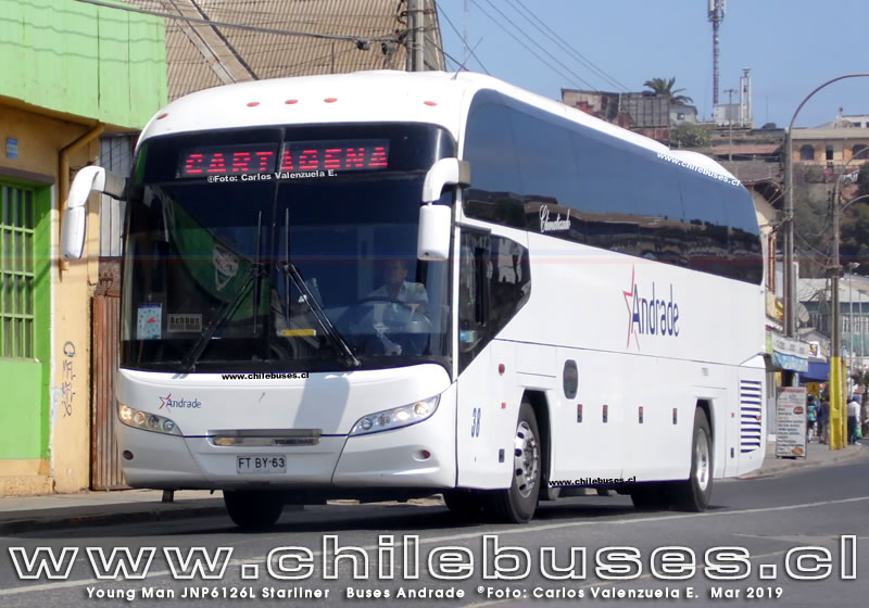 Young Man JNP6126L Starliner | Buses Andrade