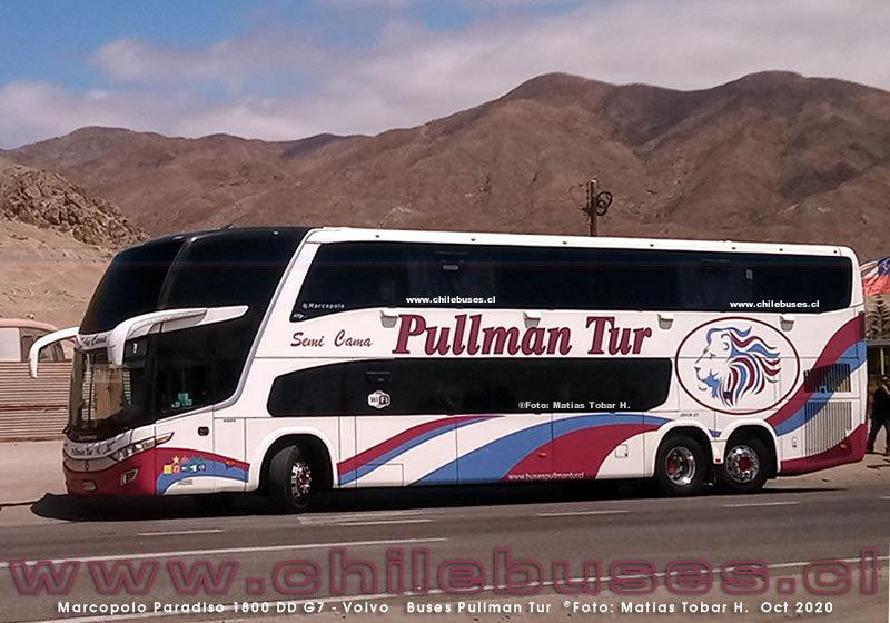 Marcopolo Paradiso 1800 DD G7 - Volvo  |  Buses Pullman Tur