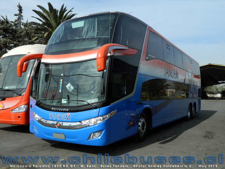 Marcopolo Paradiso 1800 DD G7 - M. Benz | Buses Tandem