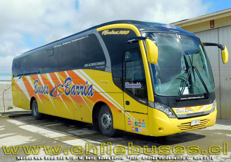Neobus New Road 360 - M. Benz  |  Buses Barria