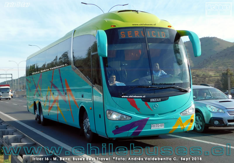 Ruta 5 Sur - Irizar I6 - M. Benz | Buses Best Travel