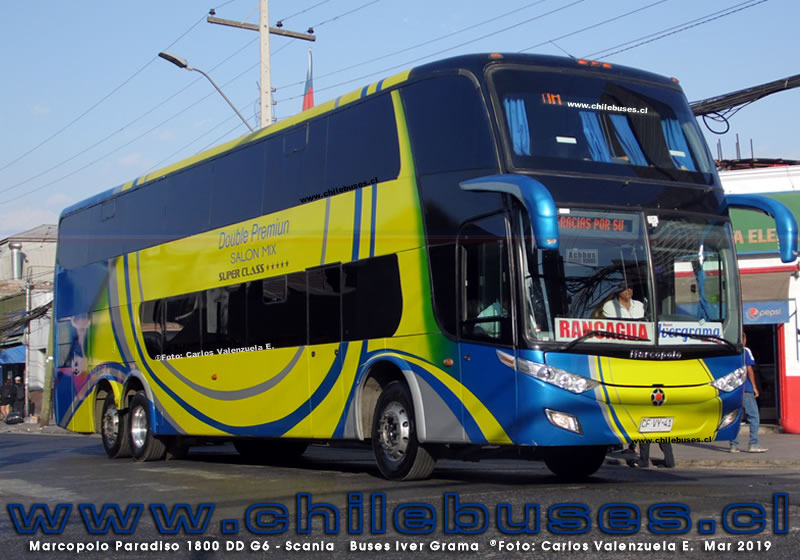 Marcopolo Paradiso 1800 DD G6 - Scania | Buses Iver Grama