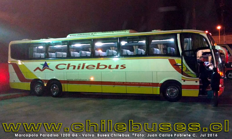 Marcopolo Paradiso 1200 G6 - Volvo | Buses Chilebus