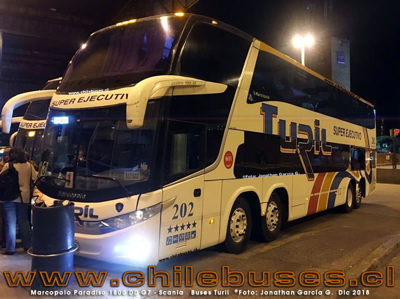 Marcopolo Paradiso 1800 DD G7 - Scania | Buses Turil (Uruguay)