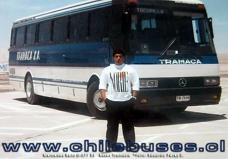 Mercedes Benz O-371 RS  |  Buses Tramaca