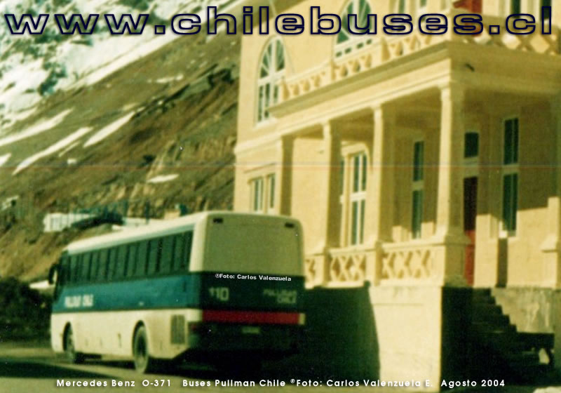 Mercedes Benz O-371 RS | Buses Pullman Chile