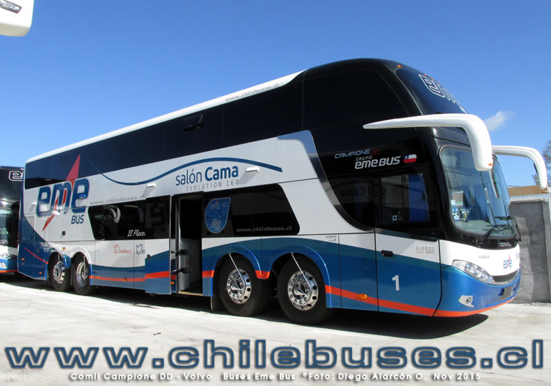Comil Campione DD - Volvo | Buses Eme Bus