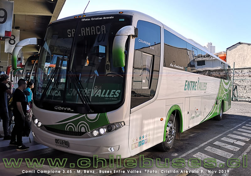 Comil Campione 3.45 - M. Benz  |   Buses Entre Valles