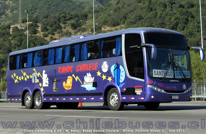 Comil Campione 3.65 - M. Benz | Buses Ramos Cholele