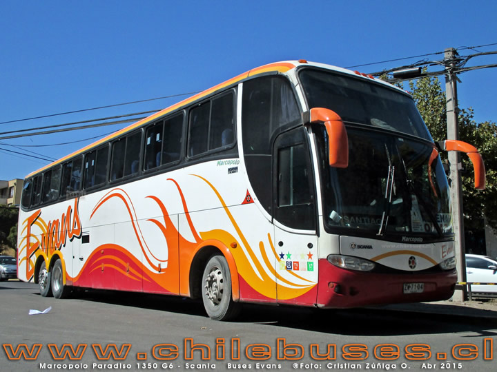 Marcopolo Paradiso 1350 G6 - Scania | Buses Evans