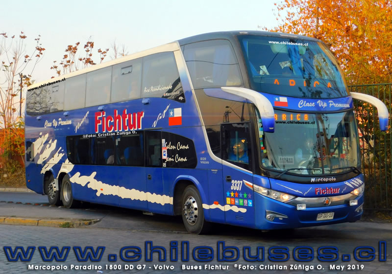 Marcopolo Paradiso 1800 DD G7 - Volvo | Buses Fichtur