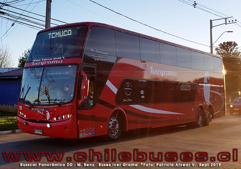 Busscar Panoramico DD - M. Benz  |  Buses Iver Grama