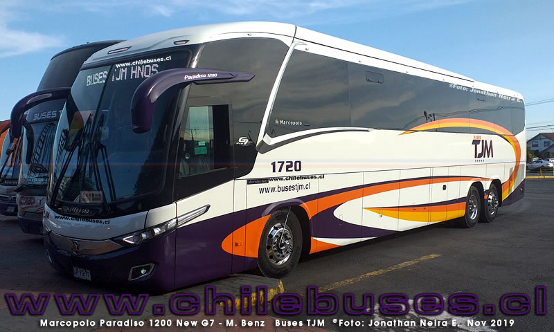 Marcopolo Paradiso 1200 New G7 - M. Benz | Buses TJM
