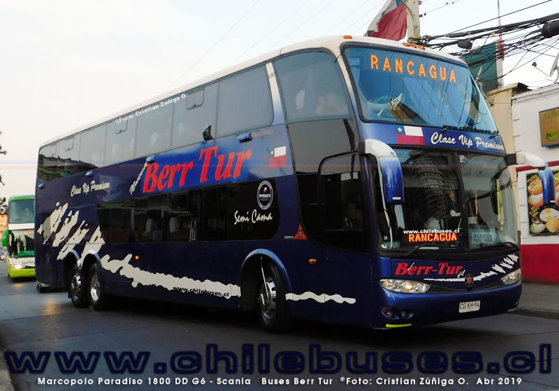 Marcopolo Paradiso 1800 DD G6 - Scania | Buses Berr Tur
