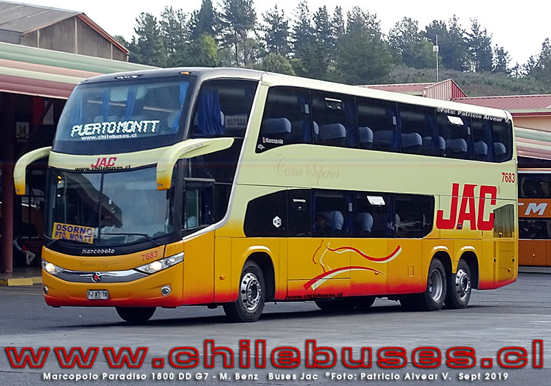 Marcopolo Paradiso 1800 DD G7 -  M. Benz  |  Buses Jac