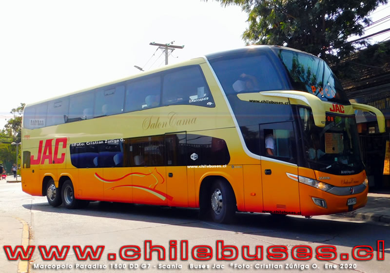 Marcopolo Paradiso 1800 DD G7 - Scania | Buses Jac