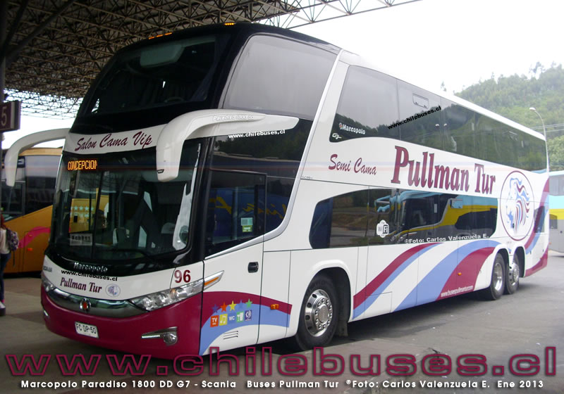 Marcopolo Paradiso 1800 DD G7 - Scania | Buses Pullman Tur