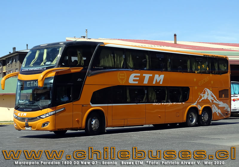 Marcopolo Paradiso 1800 DD New G7 - Scania | Buses ETM