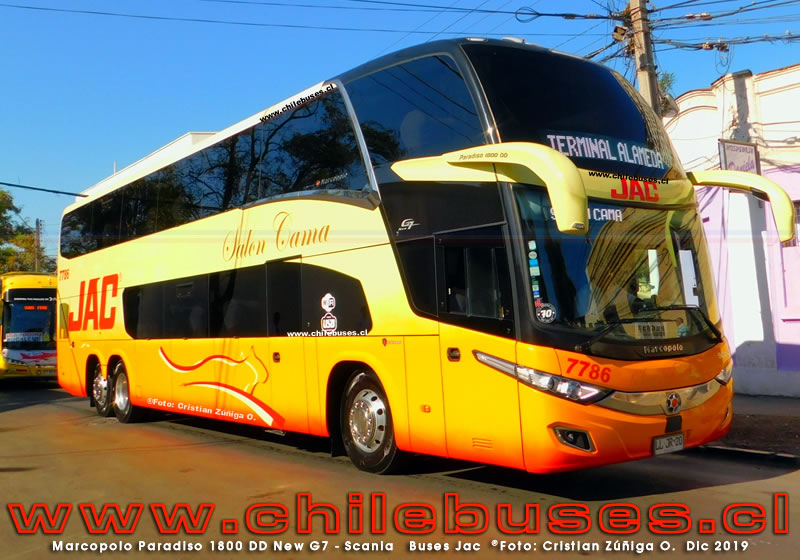 Marcopolo Paradiso 1800 DD New G7 - Scania | Buses Jac