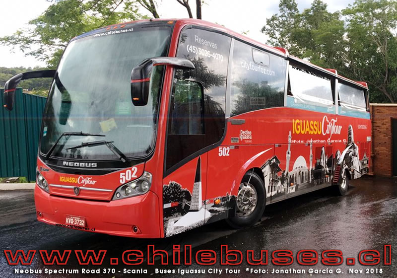 Neobus Spectrum Road 370 - Scania | Buses Iguassu City Tour (Brasil)