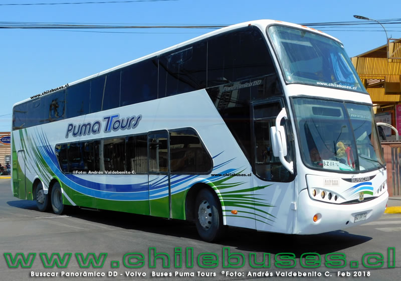Busscar Panor?mico DD - Volvo | Buses Puma Tours