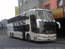 Marcopolo Paradiso 1800 DD G6 - M. Benz | Buses TAS (Argentina)