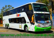 Busscar Panoramico DD  - M. Benz  |  Buses Expreso Quillota