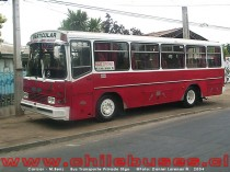 Caricar - M. Benz  /  Bus Transporte Privado (Stgo)