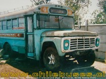 Thomas - Ford  /  Taxibus Linea 4 Intercomunal (Stgo)