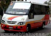 Sport Wagon Panorama (Frontal Modificado) - M. Benz | Buses Carolina del Valle (V Reg)
