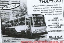 Folleto Bus Thamco Fisa 92