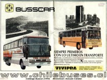 Folleto Busscar Vivipra 1994