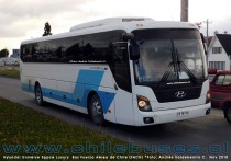 Hyundai Universe Space Luxury | Bus Fuerza Aérea de Chile (FACH)