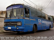 Mercedes Benz Monobloco O - 302  /  Bus Universidad del Mar (La Serena)