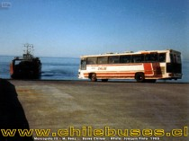 Marcopolo III - M. Benz  /  Buses Chiloe (Pargua 1985)