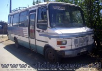 Metalpar Pucará - M. Benz | Bus Rural Ñipas - Chillán (Región de Ñuble)